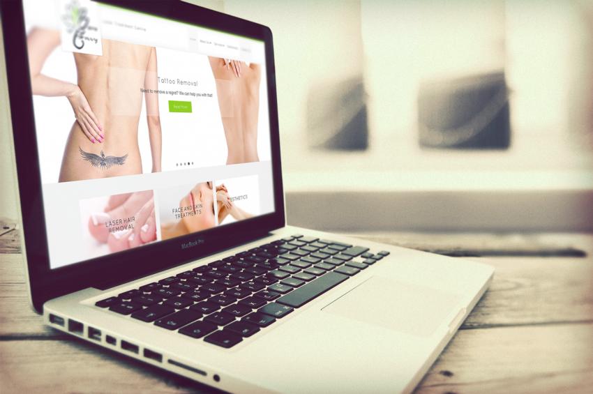 bare-envy-laser-clinic-website-design