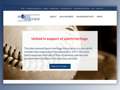 International Sports Heritage Association